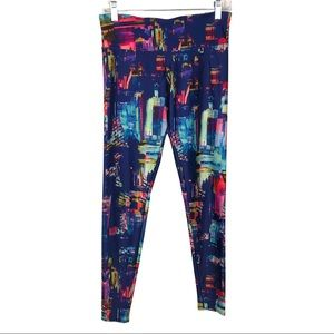 ONZIE colorful brush stroke Leggings Tall